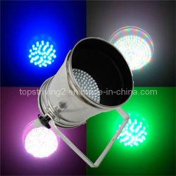 168 10mm (LED PAR 64 168-10L)のLED PAR 64 LightおよびLong Silver/Black Housing PAR 64