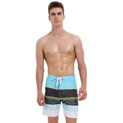 2019 de Sneldrogende Borrels van Mens van de Strandkleding van de Mensen van het Strand van Swimwear van de Polyester Korte