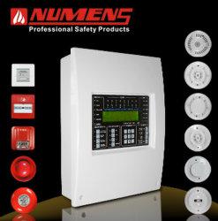 2-Loop, display LCD, sistema de controle profissional de alarme de incêndio (6001-02)