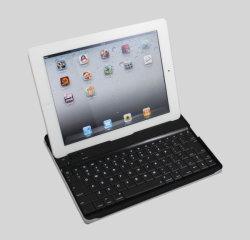 لوحة مفاتيح Bluetooth لاسلكية من الألومنيوم لجهاز iPad 3/iPad/iPad 2 جديد (HFLK-09)