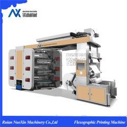 6 rouleau de couleur/Kraft/Papier copie de la machinerie d'impression flexographique