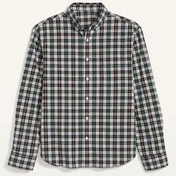 Commerce de gros 100% Coton T-shirt personnalisé vérifié Shirt Mens