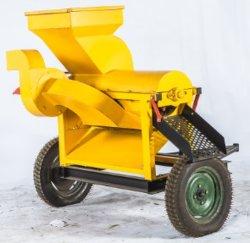 Attrezzatura agricola ruota grano grano grano grano Sheller Prezzo trattamento cereali automatico Macchina con motore diesel