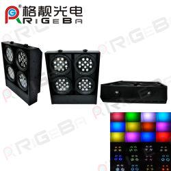 48LED RGB 1 W quatre yeux auditoire Projecteur mural