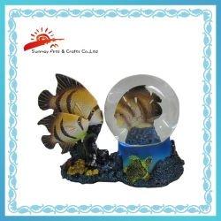 Acqua Ball Souvenirs con Fish Inside (SMW0135)