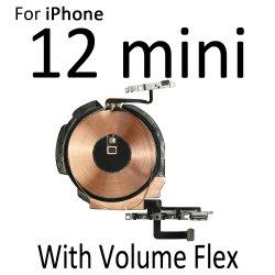De draadloze het Laden Flex Kabel van de Spaander NFC van de Rol van het Comité van de Last met de Knoop van het Volume voor iPhone 12 Mini 12 PRO Maximum
