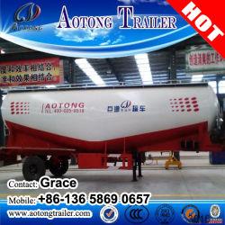 3 アクスル 40000L 低密度カーボンバルク粉末セメントタンク セミトレーラー販売(オプション容量)