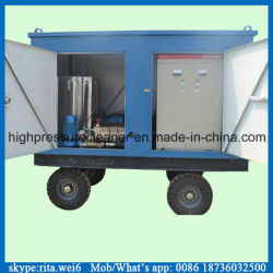 strumentazione ad alta pressione elettrica di pulizia del tubo del condensatore 1000bar
