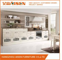 2018 professionnels de la conception du moule en PVC blanc armoire de cuisine fabriqués en Chine