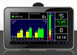 "7.0 "" Nautiker-Tablette PC Mg-701 des Android-4.2 Doppeldes kern-A20 Glonass GPS"