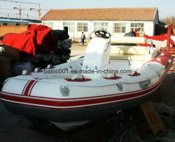 PVC 空気膨張式及びグラスファイバ製床ボート 470 CE