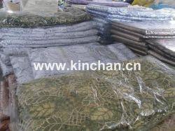 Merletto metallico della guipure, merletto del cavo, stock chimici del merletto