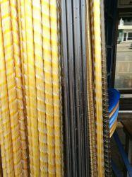 Stabiele kwaliteit anodiseren verschillende kleuren Aluminium profiel buis gordijn Stang
