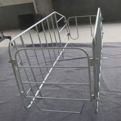 Ferme porcine du matériel fabriqué par tuyau en acier galvanisé
