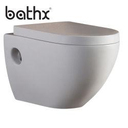 Toletta sanitaria Parete-Appesa di ceramica degli articoli della stanza da bagno di un pezzo di rossoreare di Washdown di alta qualità (PL-7717)