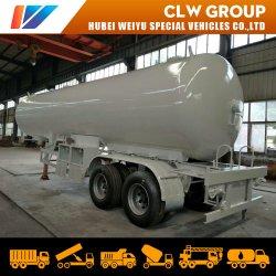 40.5m3/40.5cmb/20tons 액화된 석유 가스 탱크 트레일러 2 차축 이동할 수 있는 LPG 수송