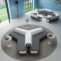 Design moderno Escritório de tamanho personalizado de Lazer Pública Sofá sofá de couro Casual