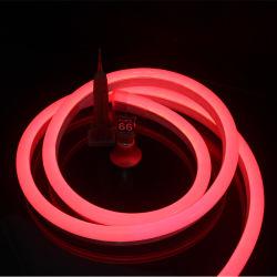 IP65/PI68 LED de PVC flexível de Neon Neon Luz Strip para decoração exterior