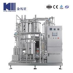 Высокое качество охлаждения газа CO2 сахара Газированные безалкогольные напитки заслонки смешения воздушных потоков обработки соды и воды смешивающая машина для напитков