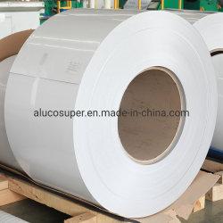 Il colore Ral9016 ha ricoperto la decorazione esterna della costruzione della bobina del tetto del rivestimento di alluminio della parete