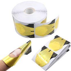 Les formulaires d'Ongles en Gel Français Polonais Formulaires d'extension Nail Art Decoration