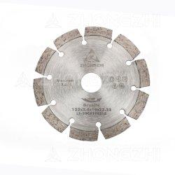 """4 """"セグメント化された110mmは石造りの切断については焼結させて鋸歯を"""