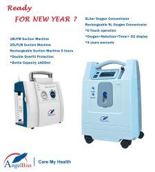 De draagbare Staaf van de Zuurstof/de Goedkope Draagbare Apparaten van de Ademhaling van de Concentrator 5L/Medical van de Zuurstof Draagbare