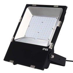 High Lumen 10W/20W/30W/50W/80W/100W/150W/200W alluminio IP65 per esterni, affissioni dimmerabili e impermeabili industriali Proiettore solare a LED