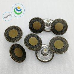 tasto di placcaggio del metallo della lega di 20mm per la camicia/i vestiti/jeans (YF135-19)