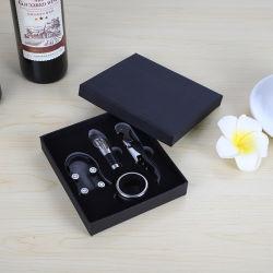 Bouteille de vin chaud vente ensemble de l'ouvreur avec boîte cadeau