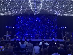 Unregelmäßige Glühlampe für Stern-Vorhang der Partei-Dekoration-LED