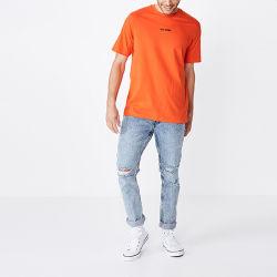 Custom высокое качество пустым 100% хлопок короткие втулки Tshirt