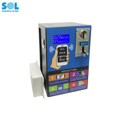 Nouvelle idée de produit 2019 Plaque en acier Coin-Operated Vandal-Proof Cheap vending machine