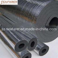 EVA extrudido NBR PVC tubo redondo de espuma de isolamento de borracha