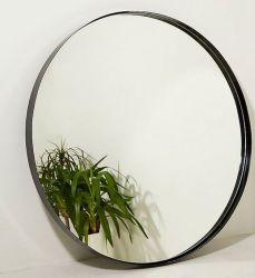 黒い金属PUフレームの円形の長方形の壁掛け装飾的なミラー