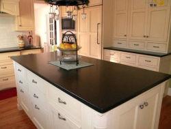 La galaxia de la cocina de granito negro pulido la superficie superior/Island/baño vanidad