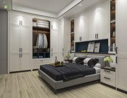 Simple de madera de estilo europeo conjunto de Muebles de Dormitorio