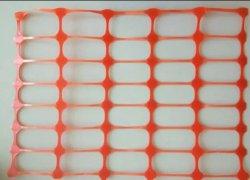 Filet de sécurité en plastique Orange Orange net d'avertissement de filet de sécurité à la senne coulissante Filet de protection de sécurité