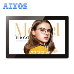 Aiyos ecrã IPS de 10 polegadas para Digital Photo Frame publicidade LCD Player