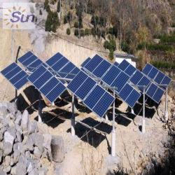 5kw 10kw PV Sonnenkollektoren weg vom Rasterfeld-Stromnetz-Installationssatz, nehmen TV/Lights/Fan/Computer/Air-Conditioner/Fridge/alle Haus-Eingabe