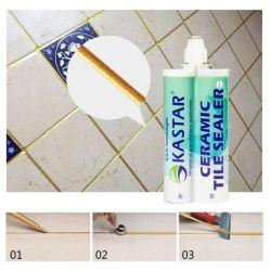 La construcción de la resina de alta resistencia de cerámica brillante piso impermeable de color dorado de la lechada de mosaico de epoxi para la Piscina