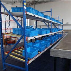 Bastidor de acero Carton Flow Almacén de estantería estantería de almacenamiento