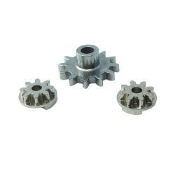 Custom Metal Gear, Iron-Plated, acier inoxydable de composants en métal fritté pour appareils électriques ménagers, de la machinerie complexe de pièces de rechange structurelles