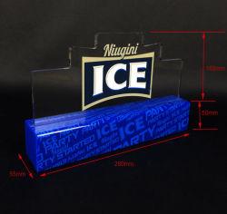 Écran LED en acrylique transparent