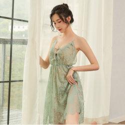 Pyjama en dentelle de femmes Sexy Hot creux Sweet Lingerie Sexy taquineries tentation Passion Suspender Chemise de nuit