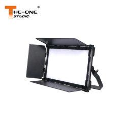Draagbare LED-lichtsignaallamp met 220W-videopaneel