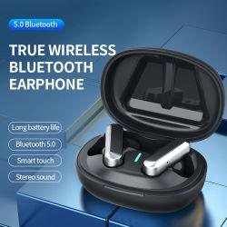 Écouteurs TWS W/ 5.0 oreillettes BT, 50mAh, 300mAh Coffret de charge, la conception intra-auriculaires vrai écouteurs sans fil (N9)