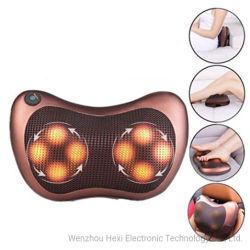 Bocal de Shiatsu Taate Volta Massajador travesseiro de massagem com calor, tecido profundo massajador para bater para o ombro, parte inferior das costas, pernas, pés, o alívio da dor muscular