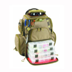 , 부대 포함되는, 3개의 낚시질 상자를 가진 방수 낚시 도구 책가방 옥외 책가방 낚시질
