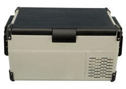 25L 12/24/110/230V DC コンプレッサポータブルチェスト式冷凍庫自動車用冷蔵庫